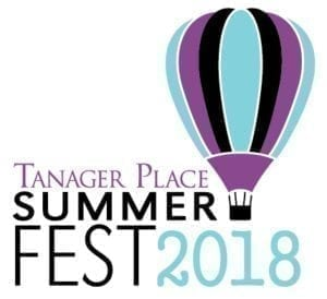 Tanager Place Summer Fest 2018 Logo