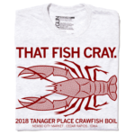 2018 Tanager Place Crawfish Boil Shirt