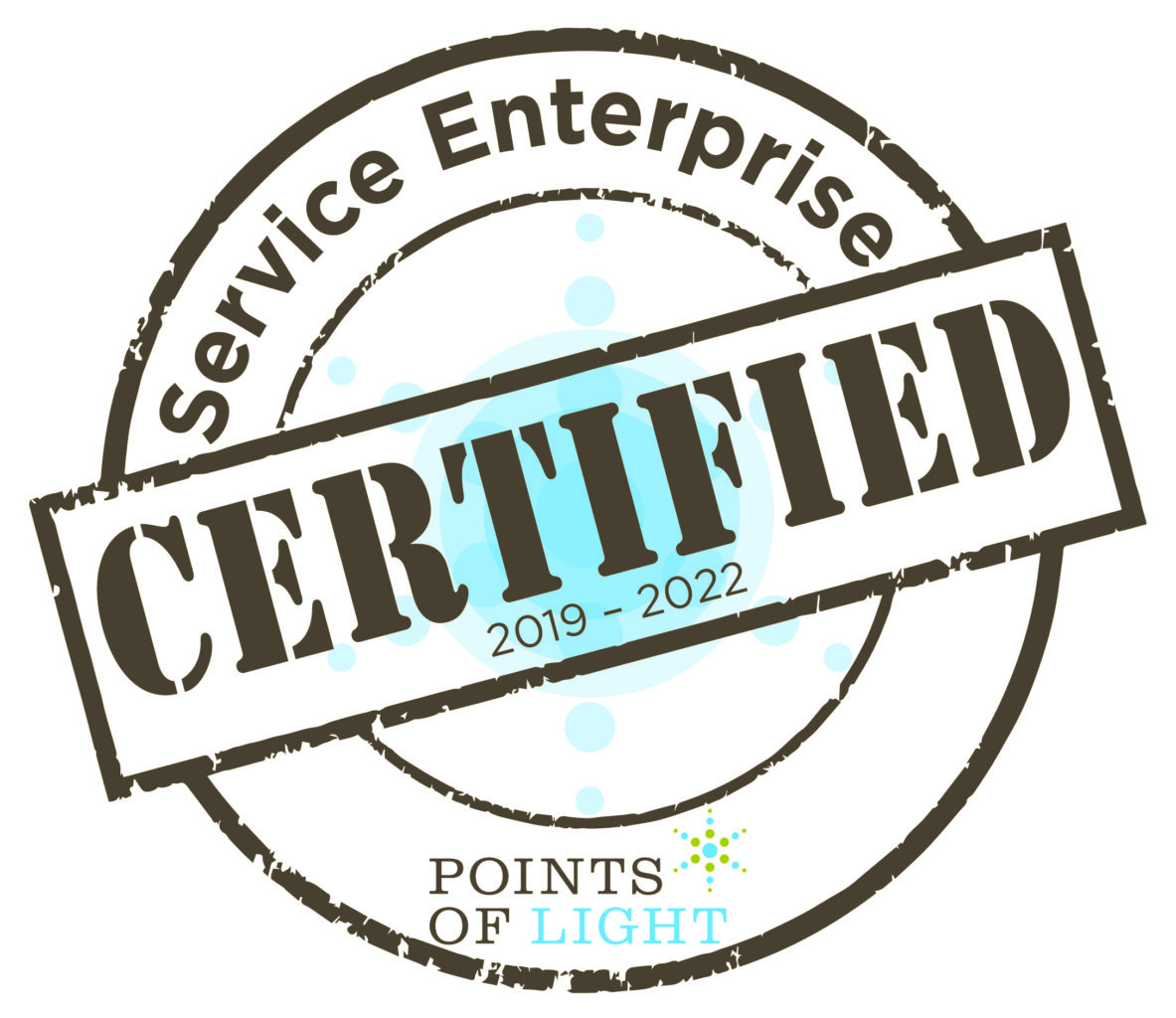 Service Enterprise certified, 2019 to 2022