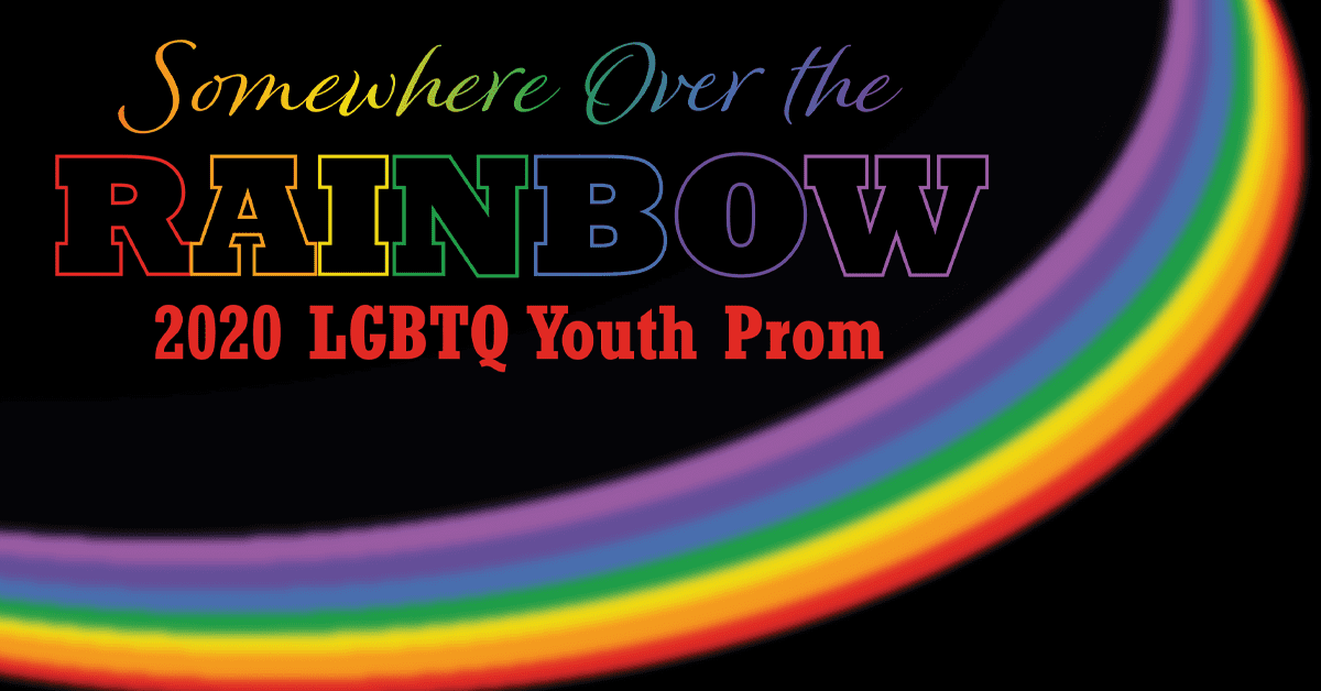 2020 LGBTQ Youth Prom Graphic