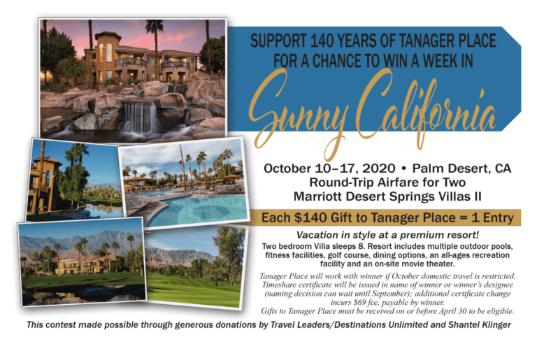 2020 Tanager Place (Un)Gala Contest
