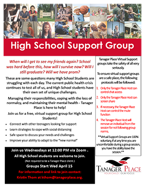 High School Support Group