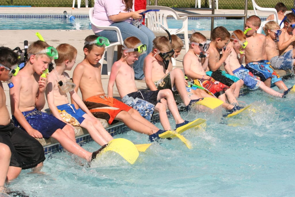 Camp Tanager Swimmers