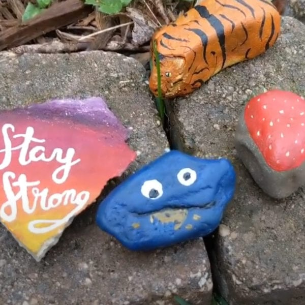 Melis Gumusoglu Create While You Isolate Painted Rocks