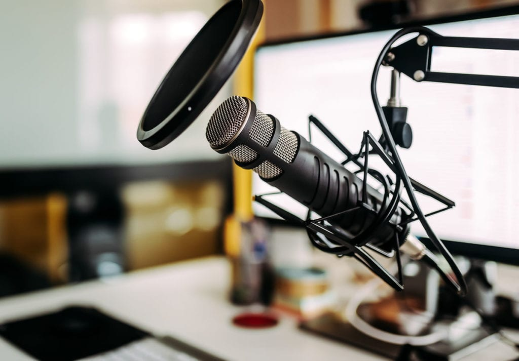 #WellnessWednesday podcast microphone