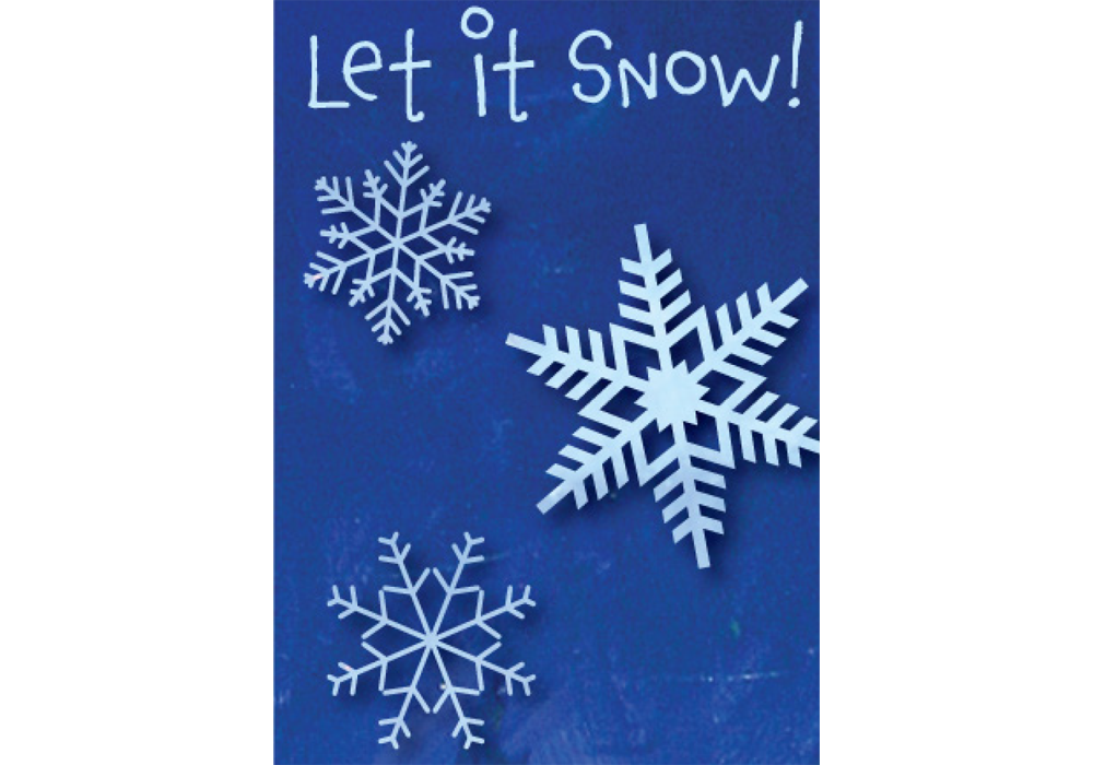 Let It Snow! - Cards With A Cause