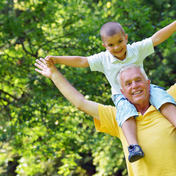 Cognitive decline - grandson and grandfather